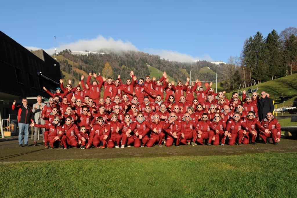 30. November 2019 - Ankleide neuer Skianzug